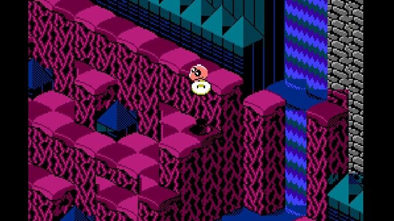 Snake Rattle 'n' Roll (NES) All secret warp zones