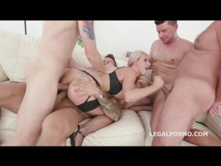 Natalie Cherry [Lingerie, Stockings, Gape, Farts, Big tits, Gape, Interracial, A2M, DAP, Anal, Gangbang]