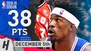 Jimmy Butler Full Highlights 76ers vs Raptors 2018.12.05 - 38 Pts, 10 Rebounds!