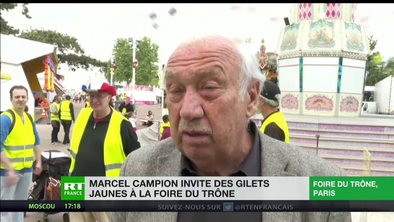 Solidarité Marcel Campion invite gratuitement des Gilets jaunes à la Foire du Trône