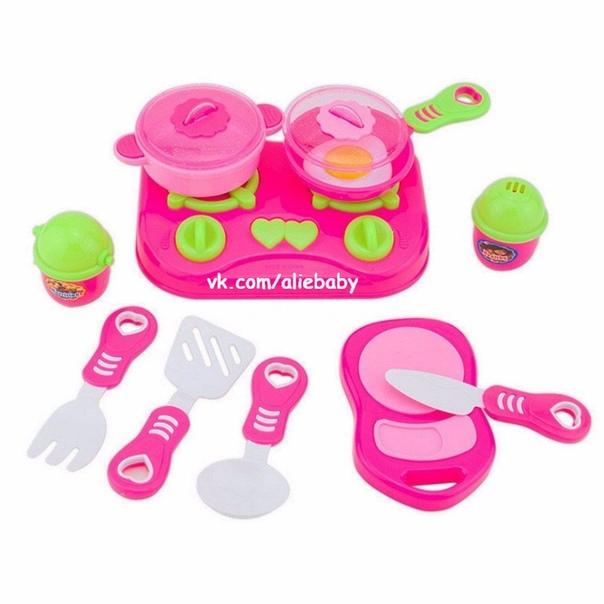 Горящие товары🔥🔥🔥. ❗Детский игрушечный набор посуды со скидкой 40% – 🔥 ©…