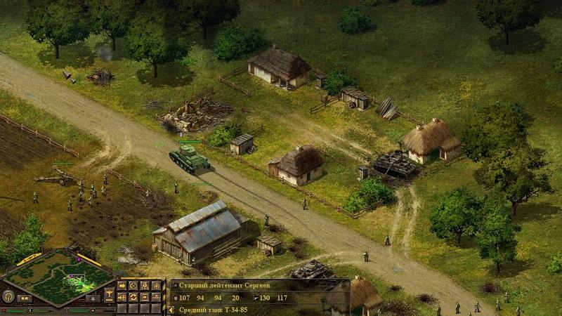 Блицкриг 115 Перехват бронетанковой группировки