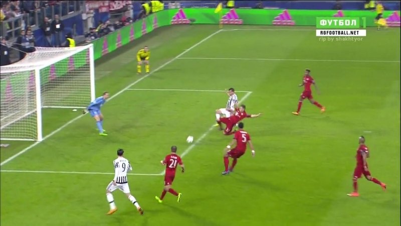 Ювентус (Турин) - Бавария (Мюнхен) 23022016 1-й матч Плей-офф 18 Финала Лиги Чемпионов (2 тайм)
