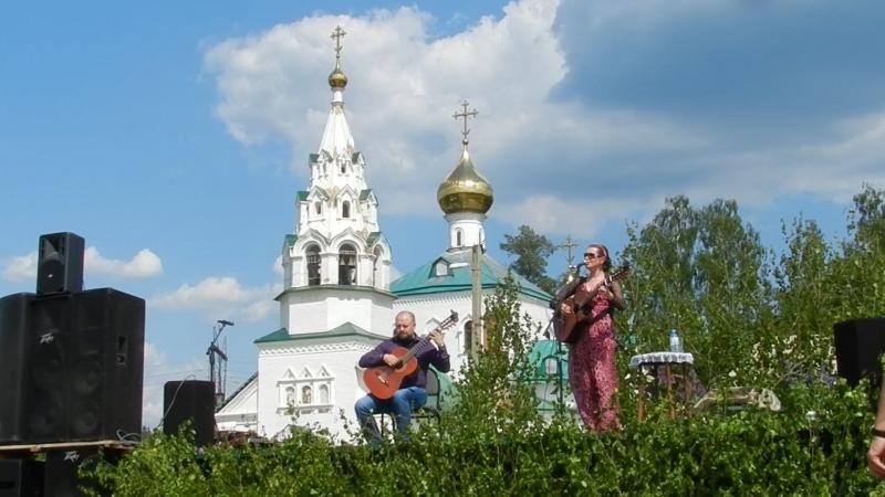 Концерт в с.Аверкиево. 03.06.18. Поёт Светлана Копылова