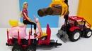 Barbie em Português. Uma moto de brinquedo. Vídeos de brinquedos.