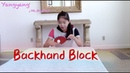 How to play backhand block——Yangyang's table tennis lessons