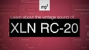 XLN RC-20 Plugin for Vintage Tape, Distortion and more. Demonstrated in detail using Ableton Live