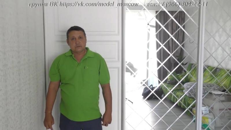 Оригинальный шкаф купе в мкр. Янтарный на кольцевой 20 Балашиха » Freewka.com - Смотреть онлайн в хорощем качестве