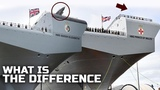 What is the difference between R08 and R09 UK's new Supercarrier and Which is Better
