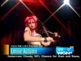 Emilie Autumn - Violin Solo on WGN