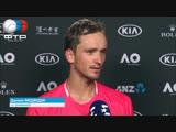 Daniil Medvedev Interview Australian Open 3R