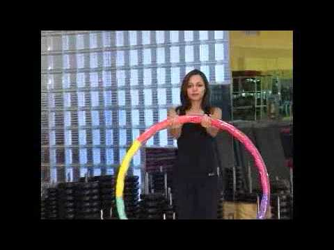 Weighted Sports Hula Hoop Workout - 2 - Upper Body by Rosemary