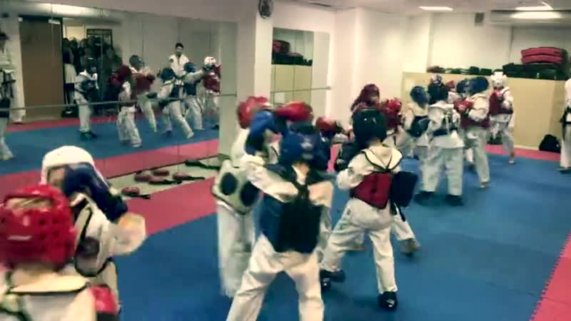 Аттестация в Кировской Школе боевых искусств Анатолия Чиканчи