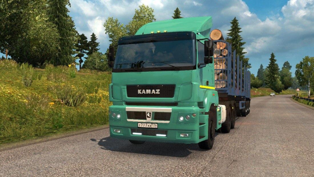 КАМАЗ-5490 / 65206 / 6580 V2.1 1.30