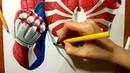 Speed Drawing PS4 Spider Man Jasmina Susak Drawing SpiderMan