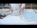 Мастер класс Декорирование ткани методом набойки Трейлер