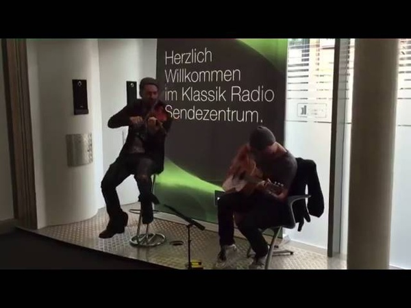 David Garrett and Marcus Wolf Private concert (unplugged) on Klassik radio (20 10 2015)