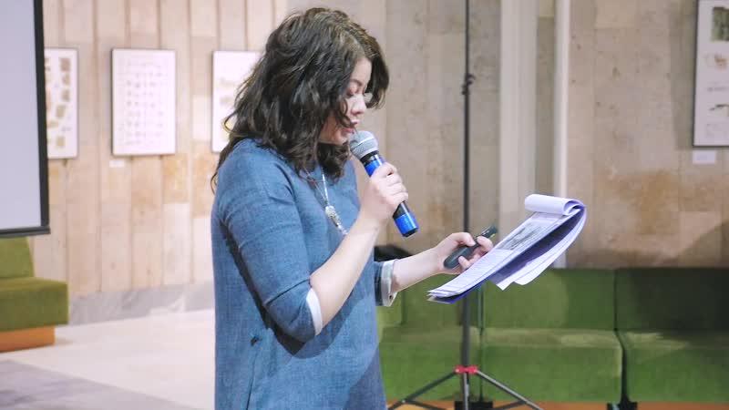 Презентация в РГДБ русско-сербской книги Юлии Брыковой Ежик в гостях у Клюкв