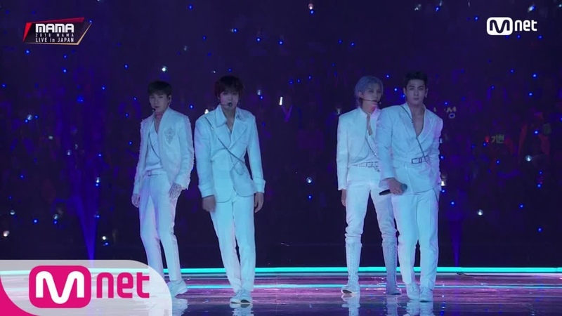 NU'EST W_INTRO Shadow│2018 MAMA FANS' CHOICE in JAPAN 181212