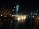 Поющий и танцующий фонтан в Дубай