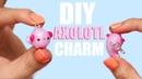 DIY AXOLOTL POLYMER CLAY CHARM