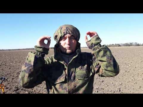 Обзор маскхалата финского разведчика Костюм парашютист М-05 Woodland (Вудланд)