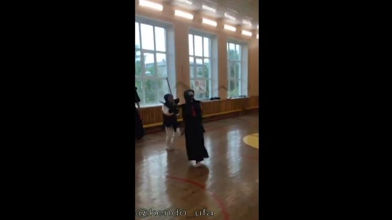 🤺Тренировочный поединок по кендо в Уфе 6 🤺 (10.07.2018) МаринаСаид