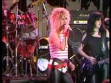 Girlschool live from London 1984