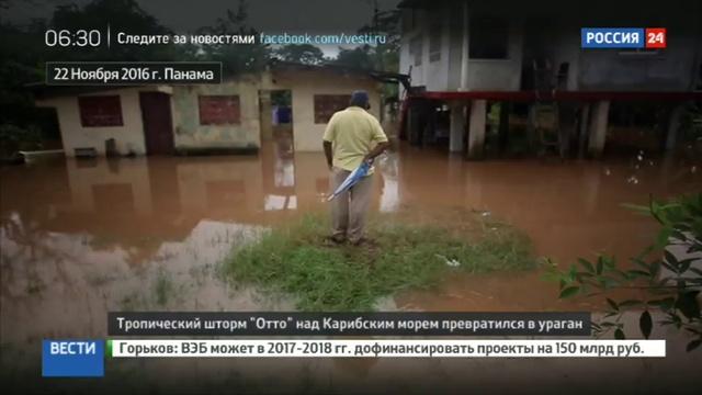 Новости на Россия 24 Тропический шторм Отто усилился до урагана смотреть онлайн без регистрации
