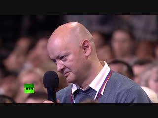 Пресс-конференция Путина. Вопрос Путину про вятский квас. (Адмиль Кельский prod. soundnova studio)