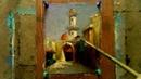 Oil Painting Old Cairo By Yasser Fayad ياسر فياض