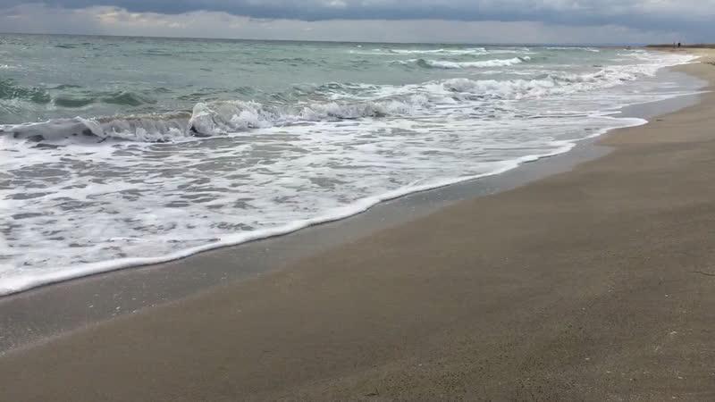 Сентябрьское море в Крыму