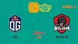 OG vs BOOM ID (карта 1), The Bucharest Minor Группа B