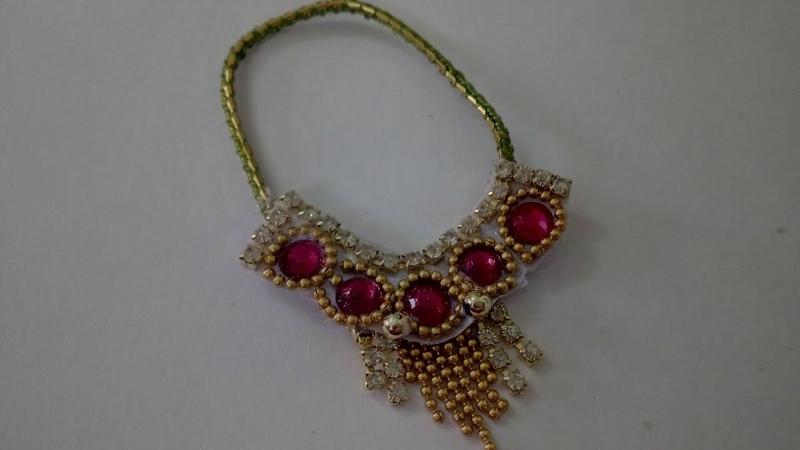 Heavy Necklace For Laddu Gopal | CraftLas