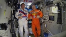 Приветствие российских космонавтов участникам учений поисково-спасательных служб Монголии и России