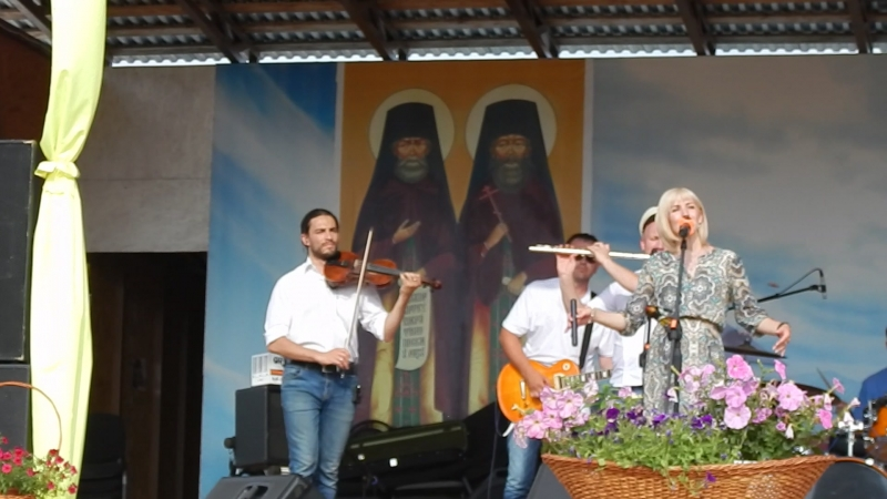 АРТ-фолк группа ЕжеВикА(Тамбов) на 13-м Кузнечном фестивале в Бывалино 15.07.2018., Оберег.