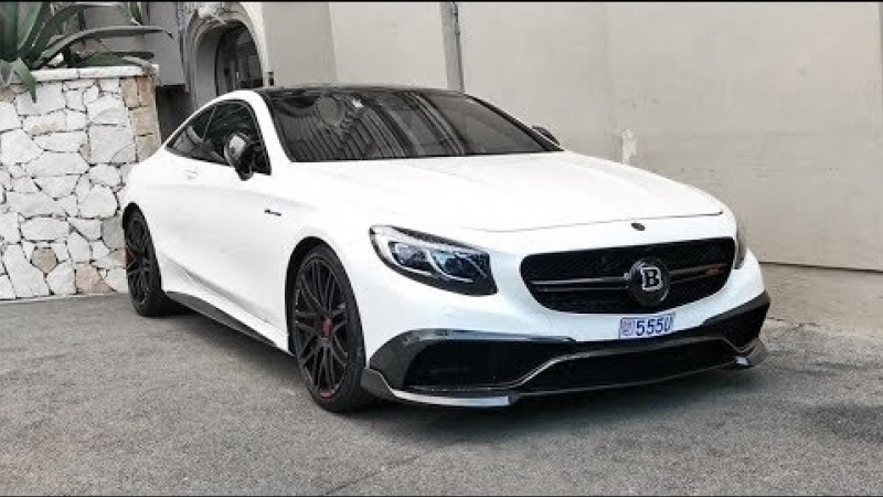 BRABUS S63 AMG Coupé - LOUD REVS and SOUNDS
