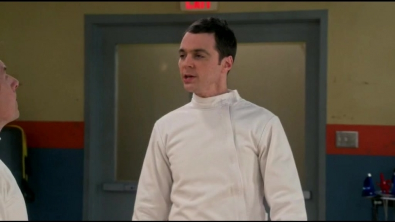 [9х5] Шелдон вызывает Барри на дуэль