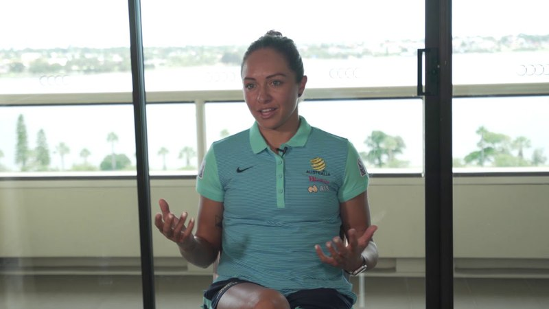 Kyah Simon shares her experience on the 2010 AFC Women's Asian Cup final