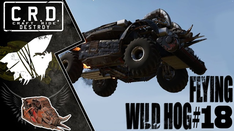 Crossout: [ Tusk Harvester ] FLYING WILD HOG 18 [ver. 0.9.135]