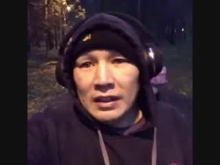 Вечерняя тренировка Руслана Проводникова.