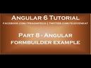 Angular formbuilder example
