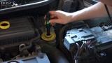Замена тормозной жидкости у ОД за 1000р. Volkswagen Polo Sedan 105 hp CFNA