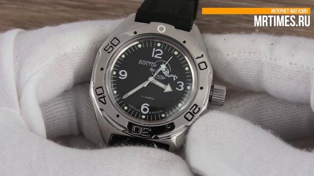 Восток Амфибия 670919 Дайвер. Обзор часов Восток Амфибия от MrTimes.ru