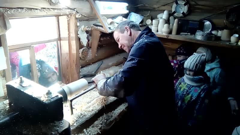 Музей Матрешки р.п. Вознесенское - изготовление белья. 11.11.18