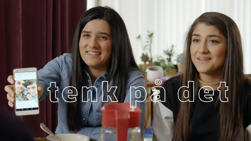 Blank (NRK), 2-й сезон, 3-я серия, 2-й отрывок tenk på det [подумай об этом]