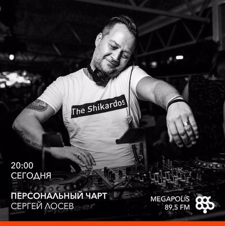 LOSEV – Personal Chart on Megapolis FM – 05.12.2018