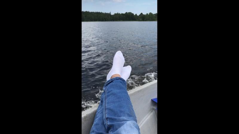 На лодке В Кузнечное