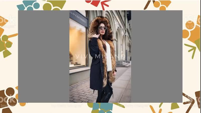 Куртки женские с настоящим мехом в г. Москва