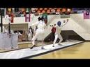 Кыргызстан принял участие на чемпионате Азии по фехтованию